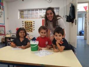 Estágios | Auxiliar de educação | Teaching assistant
