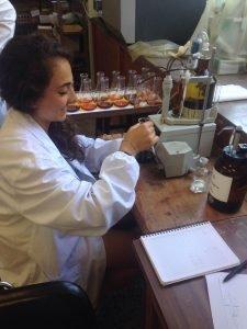 Estágios | Laboratório | Laboratory